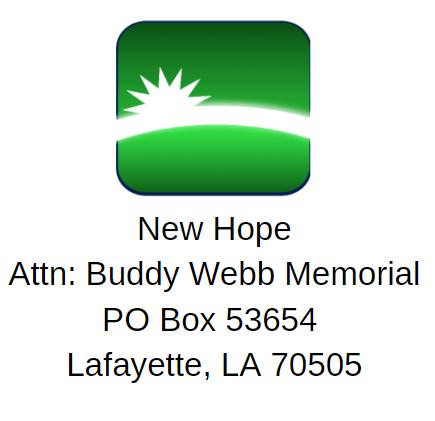 New Hope mailing address logo